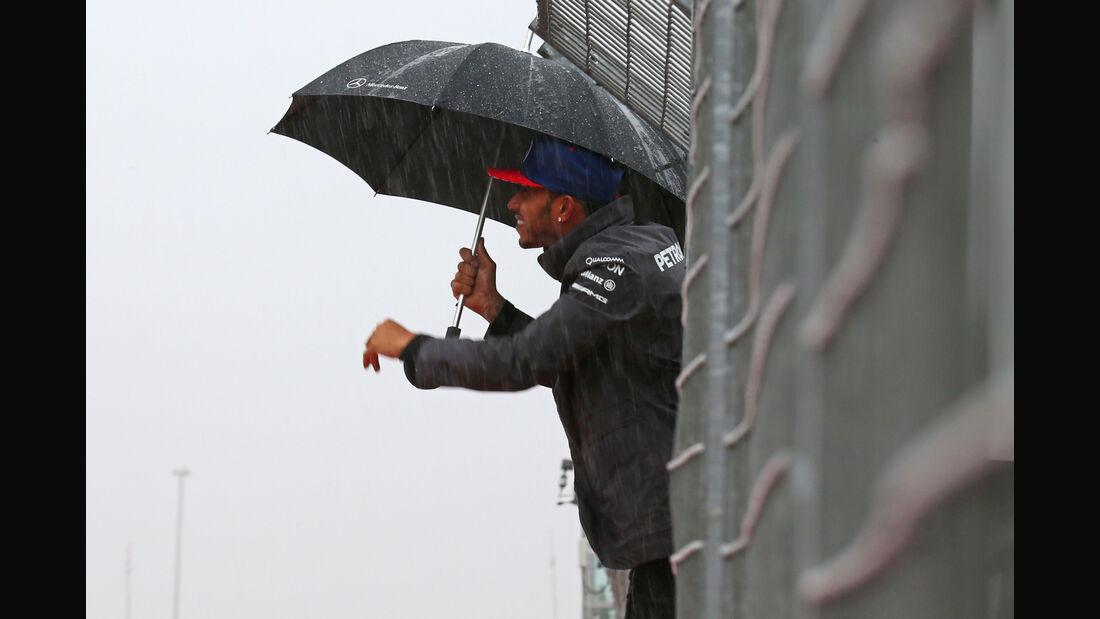 Lewis Hamilton - Mercedes - Formel 1 - GP USA - Austin - Formel 1 - 24. Oktober 2015