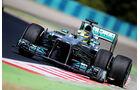 Lewis Hamilton - Mercedes - Formel 1 - GP Ungarn 2013