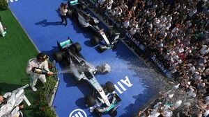 Lewis Hamilton - Mercedes - Formel 1 - GP Ungarn - 24. Juli 2019