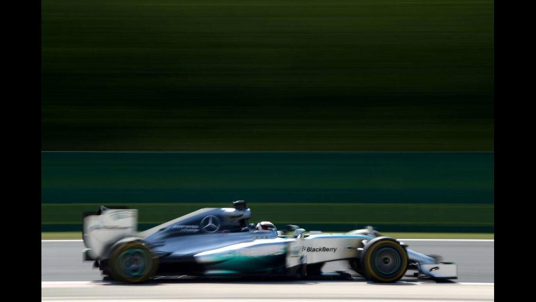 Lewis Hamilton - Mercedes - Formel 1 - GP Ungarn - 25. Juli 2014