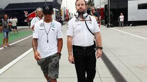 Lewis Hamilton - Mercedes - Formel 1 - GP Ungarn - 26. Juli 2014