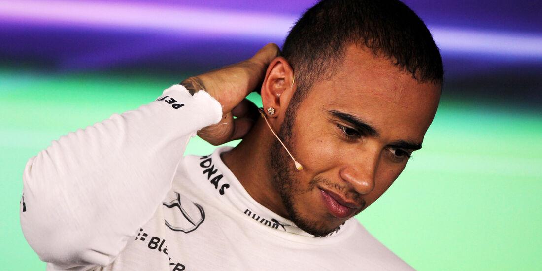 Lewis Hamilton - Mercedes - Formel 1 - GP Ungarn - 27. Juli 2013