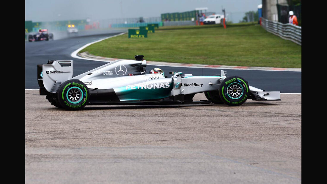 Lewis Hamilton - Mercedes - Formel 1 - GP Ungarn - 27. Juli 2014