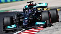 Lewis Hamilton - Mercedes - Formel 1 - GP Ungarn - Budapest - Freitag - 30. Juli 2021