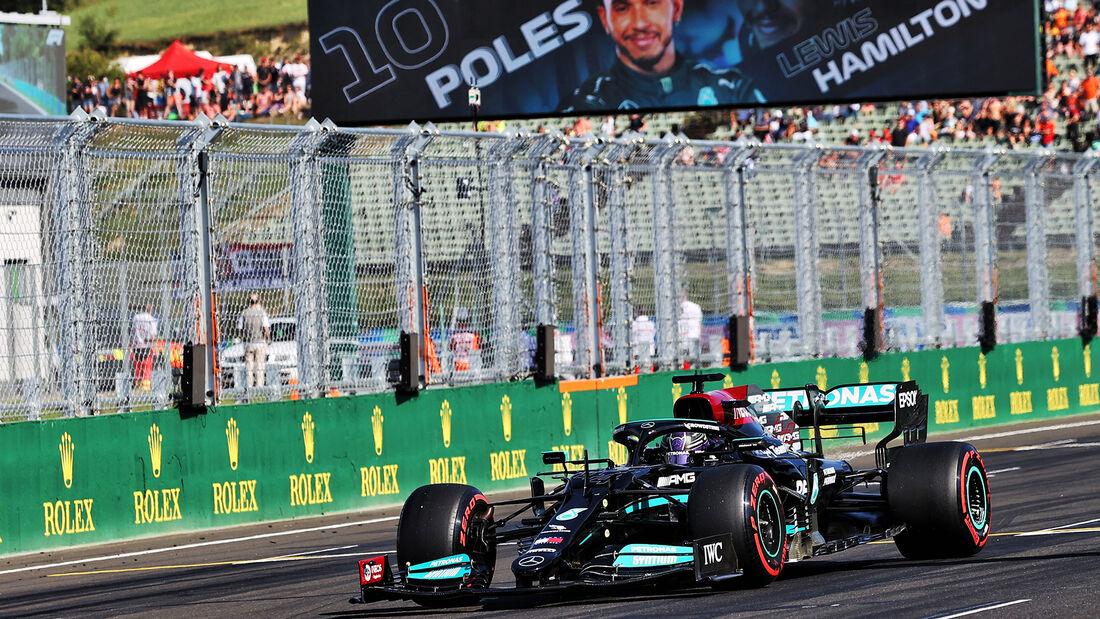 Lewis Hamilton - Mercedes - Formel 1 - GP Ungarn - Budapest - Samstag - 31. Juli 2021