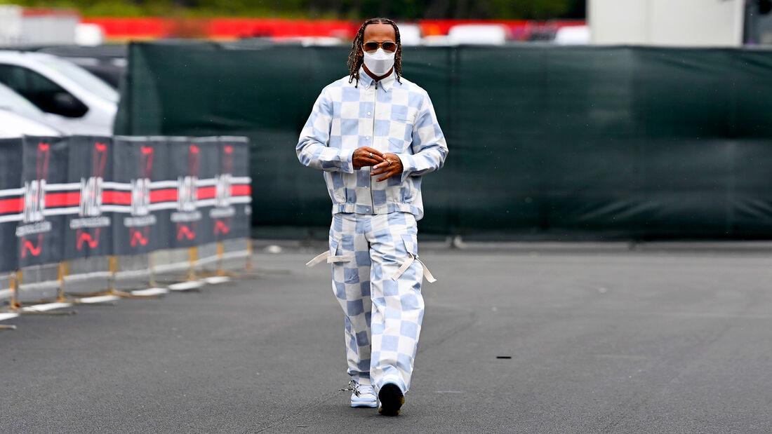 Lewis Hamilton - Mercedes - Formel 1 - Imola - GP Emilia-Romagna - 15. April 2021