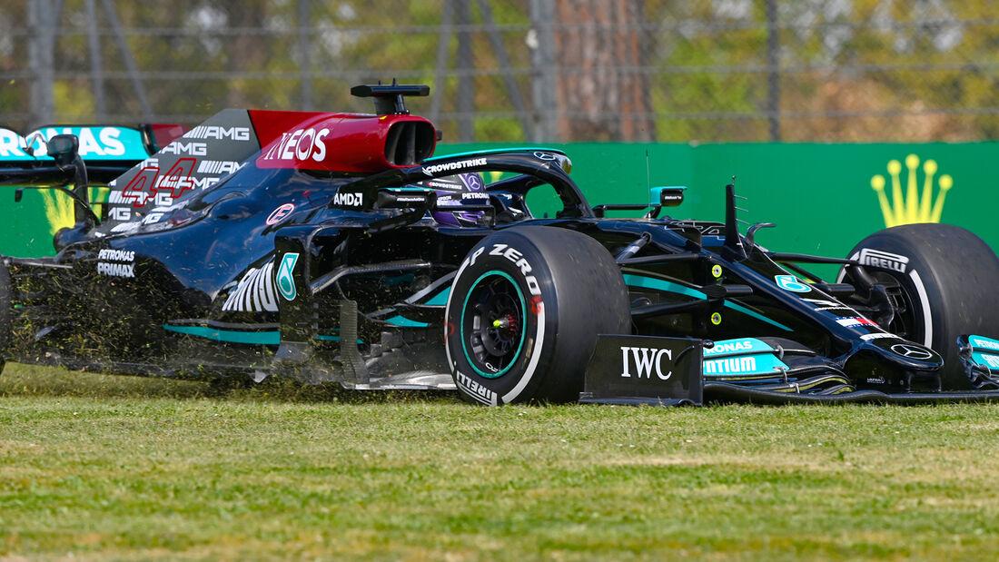 Lewis Hamilton - Mercedes - Formel 1 - Imola - GP Emilia-Romagna - 16. April 2021