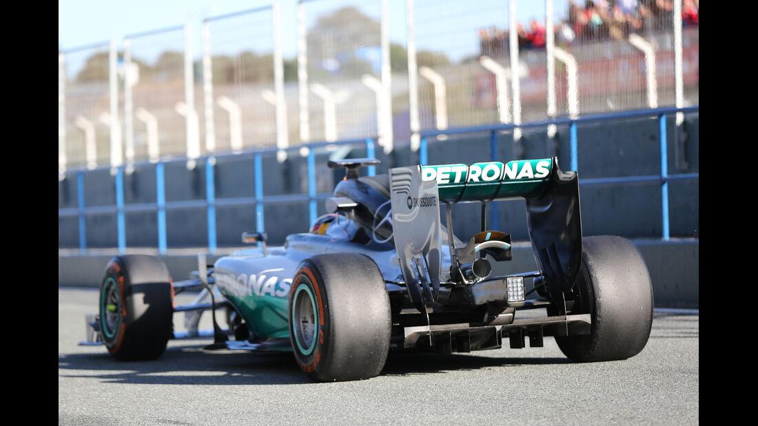 Lewis Hamilton - Mercedes - Formel 1 - Jerez - Test - 30. Januar 2014