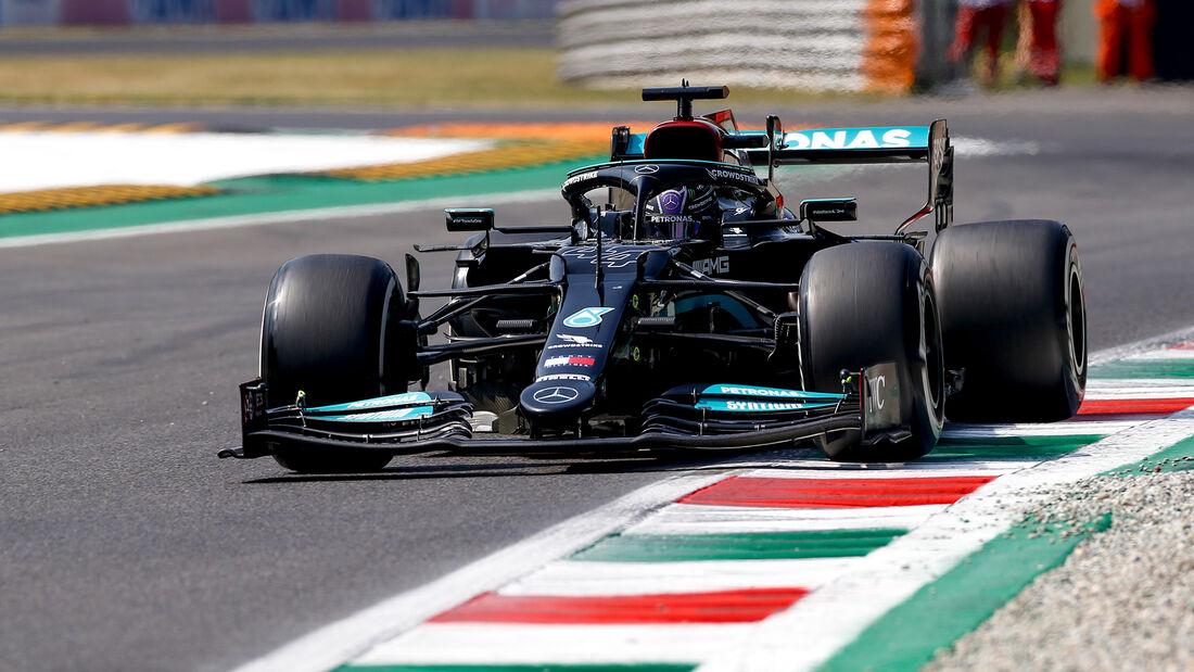 Lewis Hamilton - Mercedes - Formel 1 - Monza - GP Italien - 11. September 2021
