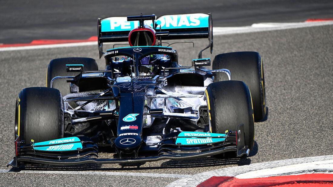 Lewis Hamilton - Mercedes - Formel 1 - Test - Bahrain - 14. März 2021