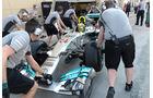 Lewis Hamilton - Mercedes - Formel 1 - Test - Bahrain - 19. Februar 2014
