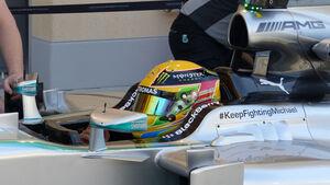 Lewis Hamilton - Mercedes - Formel 1 - Test - Bahrain - 21. Februar 2014