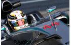 Lewis Hamilton - Mercedes - Formel 1-Test - Barcelona - 20. Februar 2015