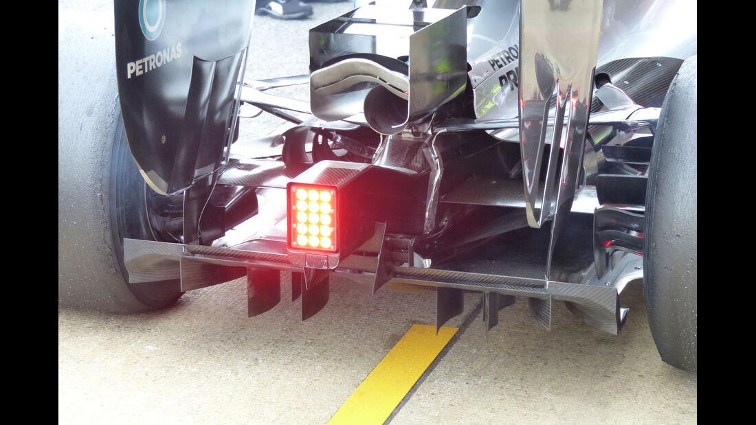 Lewis Hamilton - Mercedes - Formel 1-Test - Barcelona - 21. Februar 2015