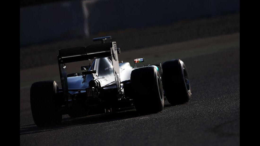 Lewis Hamilton - Mercedes - Formel 1-Test - Barcelona - 28. Februar 2015