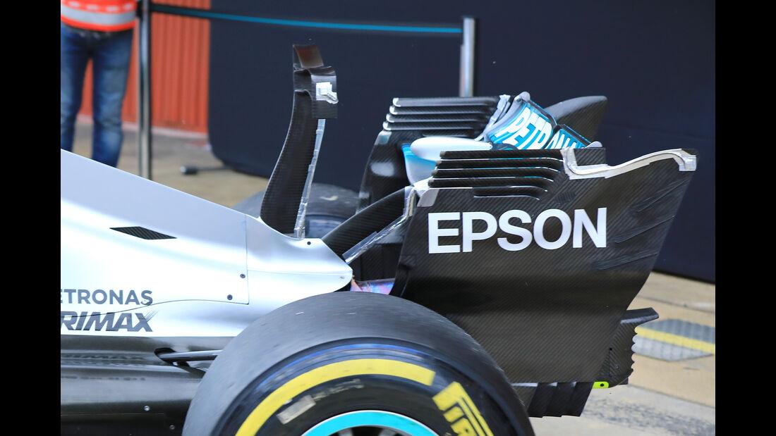 Lewis Hamilton - Mercedes - Formel 1-Test - Barcelona - 28. Februar 2017
