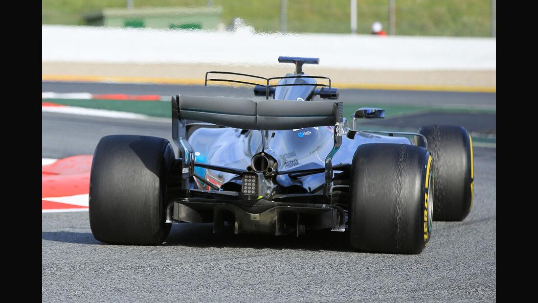 Lewis Hamilton - Mercedes - Formel 1 - Test - Barcelona - 28. Februar 2017