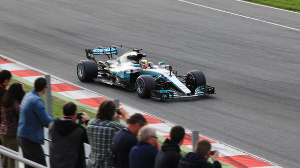 Lewis Hamilton - Mercedes - Formel 1 - Test - Barcelona - 8. März 2017