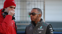Lewis Hamilton - Mercedes - Formel 1 - Test - Jerez - 5. Februar 2013