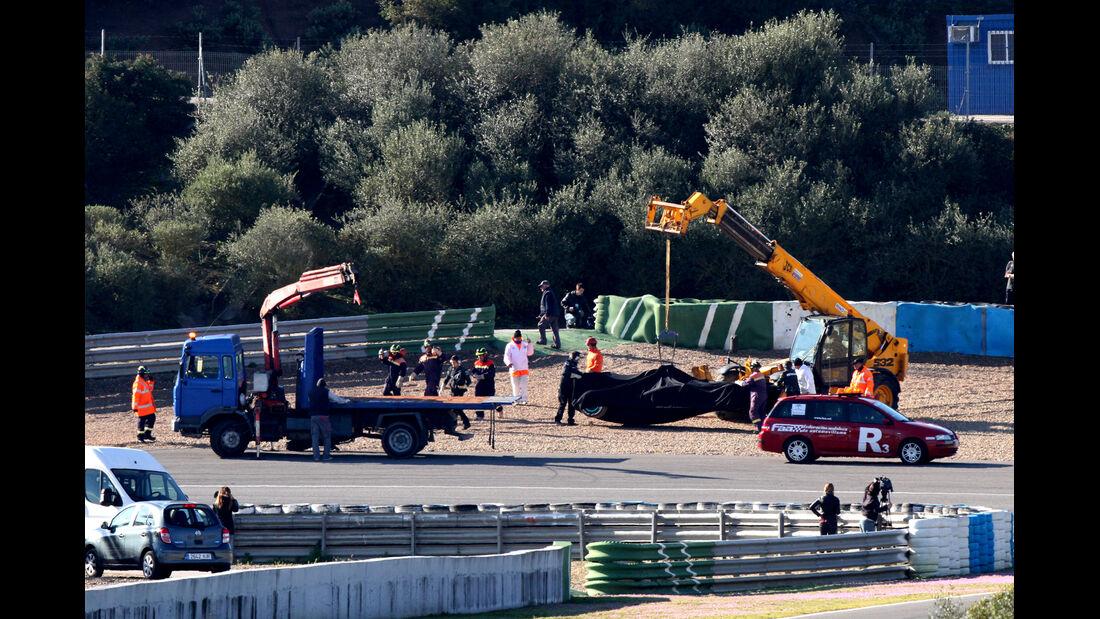 Lewis Hamilton - Mercedes - Formel 1 - Test - Jerez - 6. Februar 2013