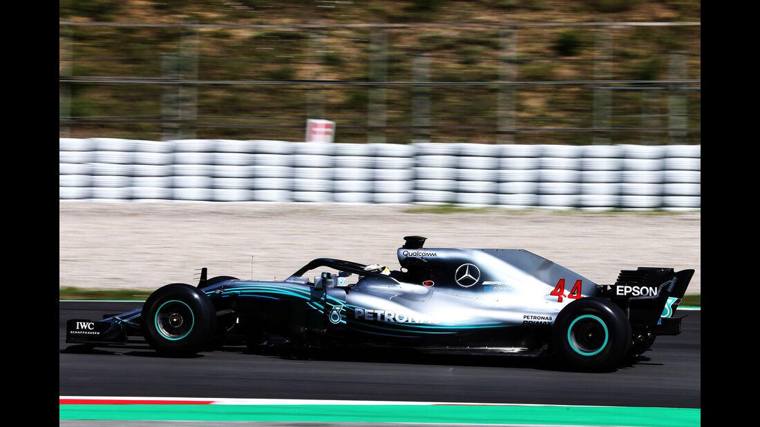 Lewis Hamilton - Mercedes - Formel 1 - Testfahrten - Barcelona - 15.5.2018