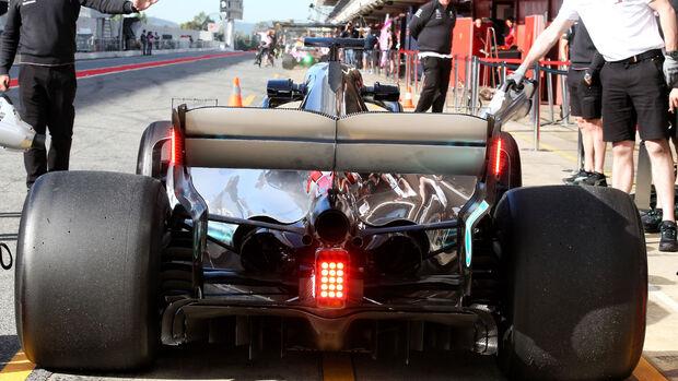 Lewis Hamilton - Mercedes - Formel 1 - Testfahrten - Barcelona - Dienstag - 15.5.2018