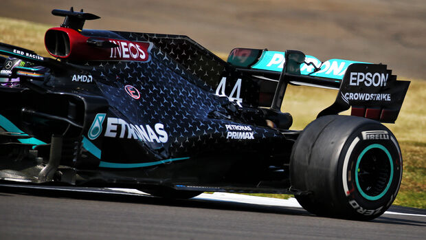 Lewis Hamilton - Mercedes - GP 70 Jahre F1 - Silverstone