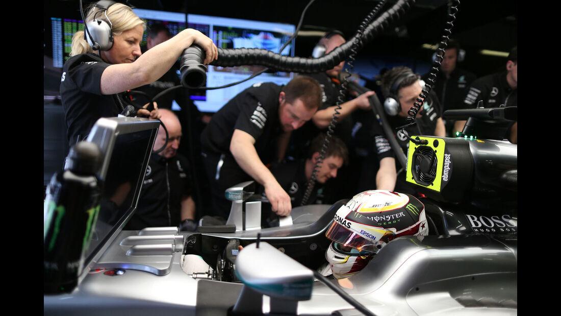 Lewis Hamilton - Mercedes - GP Abu Dhabi 2016 - Formel 1