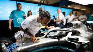 Lewis Hamilton - Mercedes - GP Abu Dhabi 2019