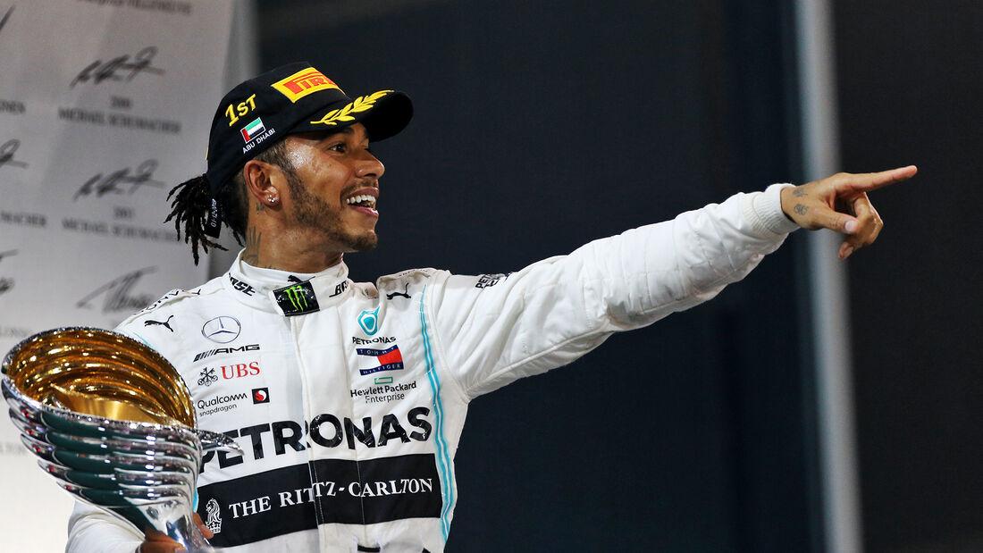 Gp. de Abu Dhabi: «Demoledora victoria de Lewis Hamilton»