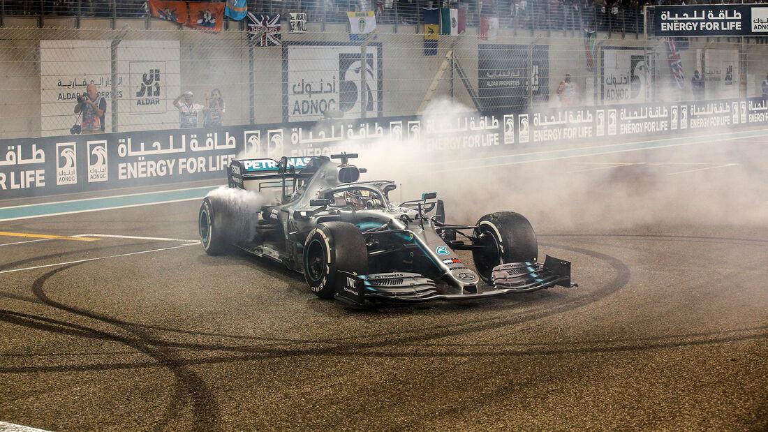 Lewis Hamilton - Mercedes - GP Abu Dhabi 2019 - Rennen