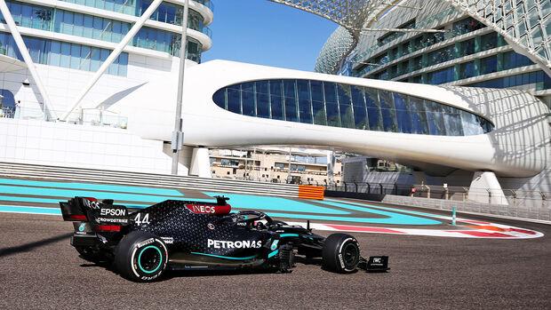 Lewis Hamilton - Mercedes - GP Abu Dhabi 2020