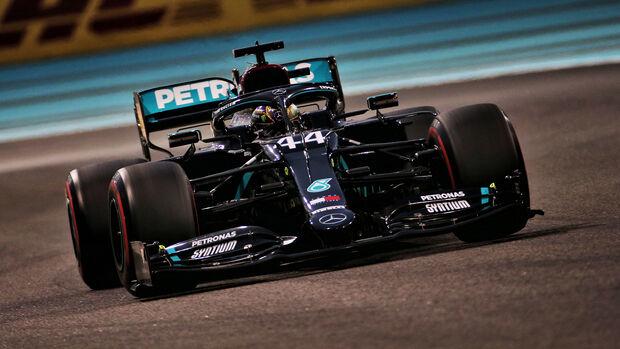 Lewis Hamilton - Mercedes - GP Abu Dhabi 2020 - Qualifikation