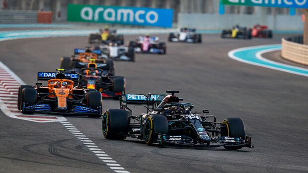 Lewis Hamilton - Mercedes - GP Abu Dhabi 2020 - Rennen