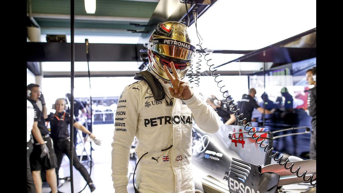 Lewis Hamilton - Mercedes - GP Abu Dhabi - 25. November 2017