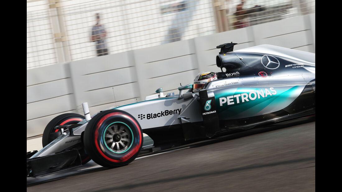 Lewis Hamilton - Mercedes - GP Abu Dhabi - 28. November 2015
