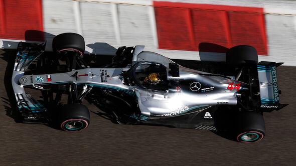 Lewis Hamilton - Mercedes - GP Abu Dhabi - Formel 1 - 23. November 2018