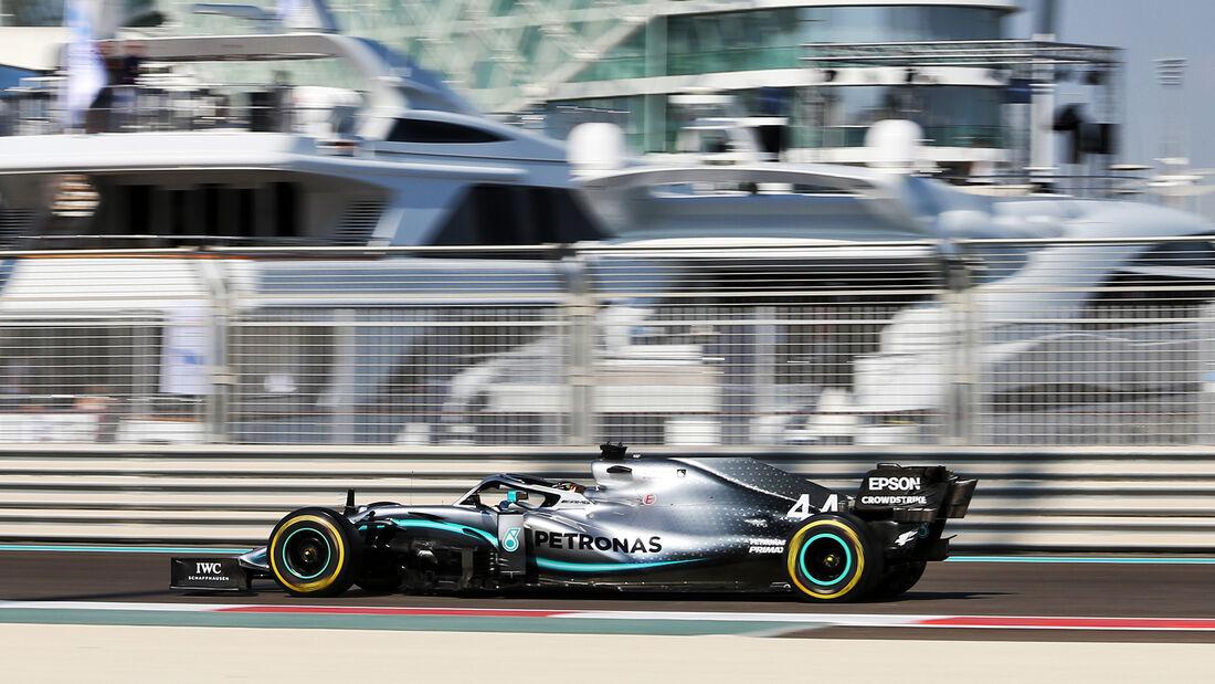 Lewis Hamilton - Mercedes - GP Abu Dhabi - Formel 1 - Freitag - 29.11.2019