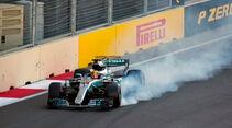 Lewis Hamilton - Mercedes - GP Aserbaidschan 2017 - Qualifying - Baku - Samstag - 24.6.2017