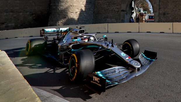 Lewis Hamilton - Mercedes - GP Aserbaidschan 2019