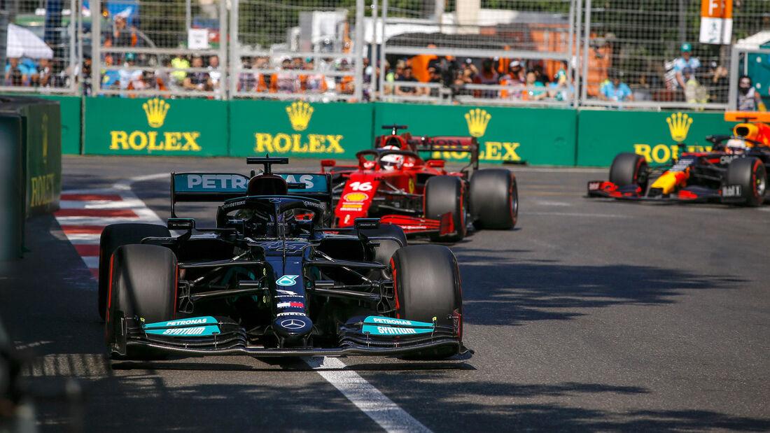 Lewis Hamilton - Mercedes - GP Aserbaidschan 2021 - Baku - Rennen