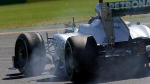 Lewis Hamilton Mercedes GP Australien 2013