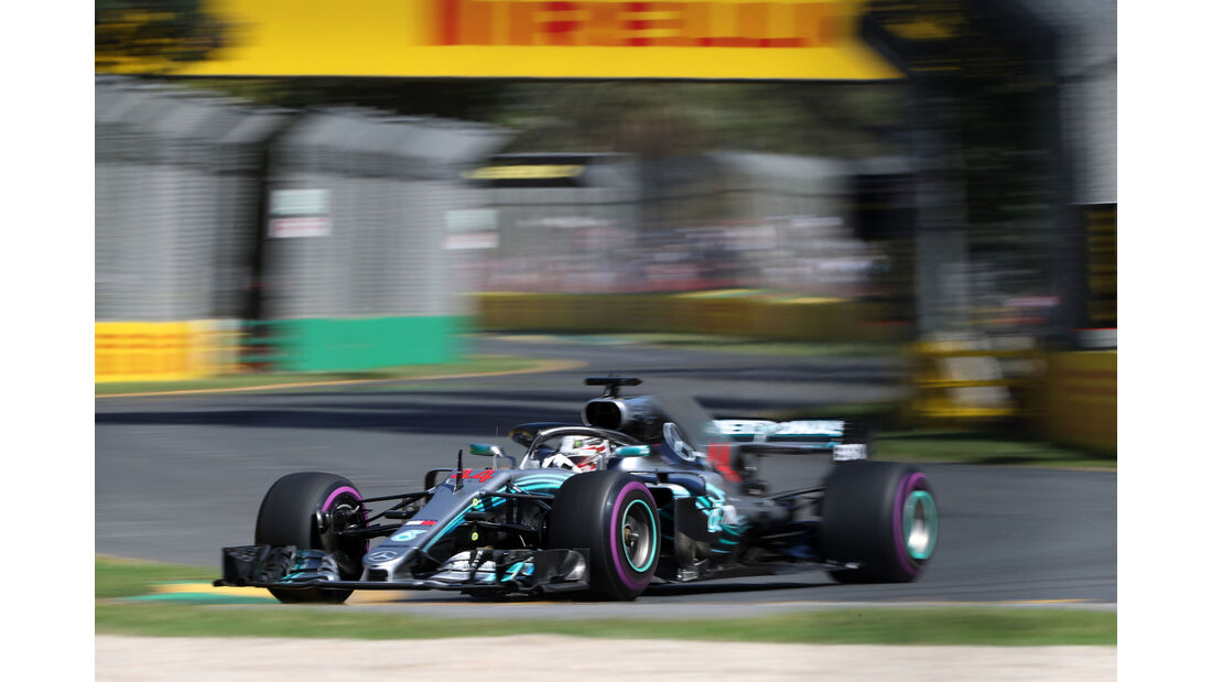 Lewis Hamilton - Mercedes - GP Australien 2018 - Melbourne - Albert Park - Freitag - 23.3.2018
