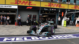 Lewis Hamilton - Mercedes - GP Australien 2018 - Melbourne - Qualifying