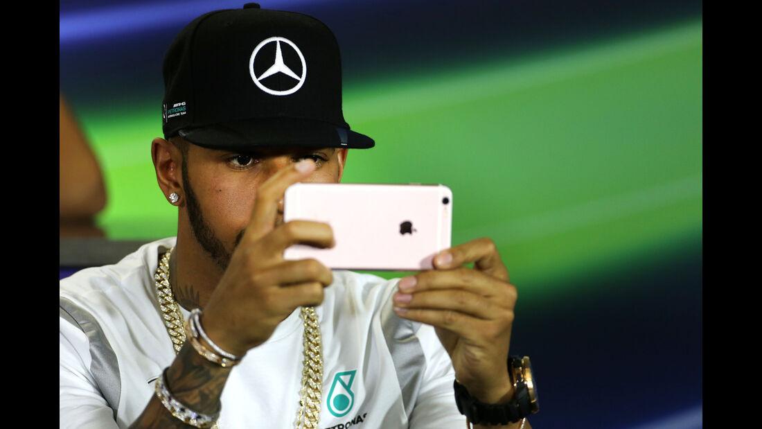 Lewis Hamilton - Mercedes - GP Australien - Melbourne - 17. März 2016
