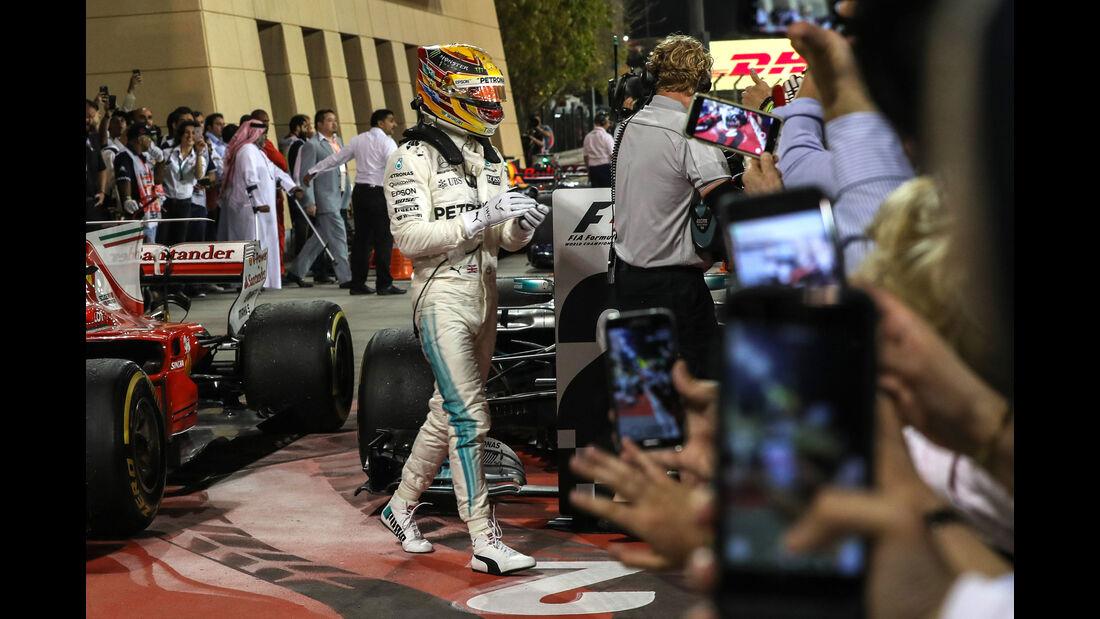 Lewis Hamilton - Mercedes - GP Bahrain 2017 - Rennen