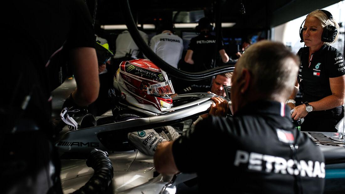 Lewis Hamilton - Mercedes - GP Bahrain 2019