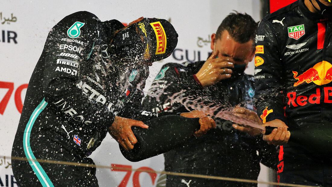 Lewis Hamilton - Mercedes - GP Bahrain 2020 - Sakhir - Rennen