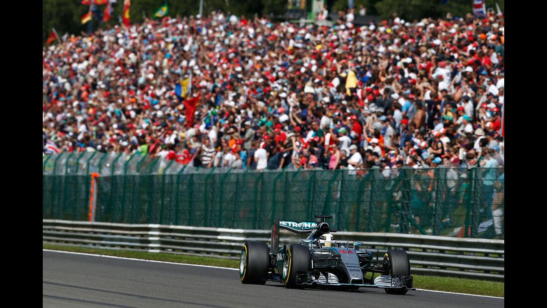 Lewis Hamilton - Mercedes - GP Belgien 2015 - Spa Francorchamps