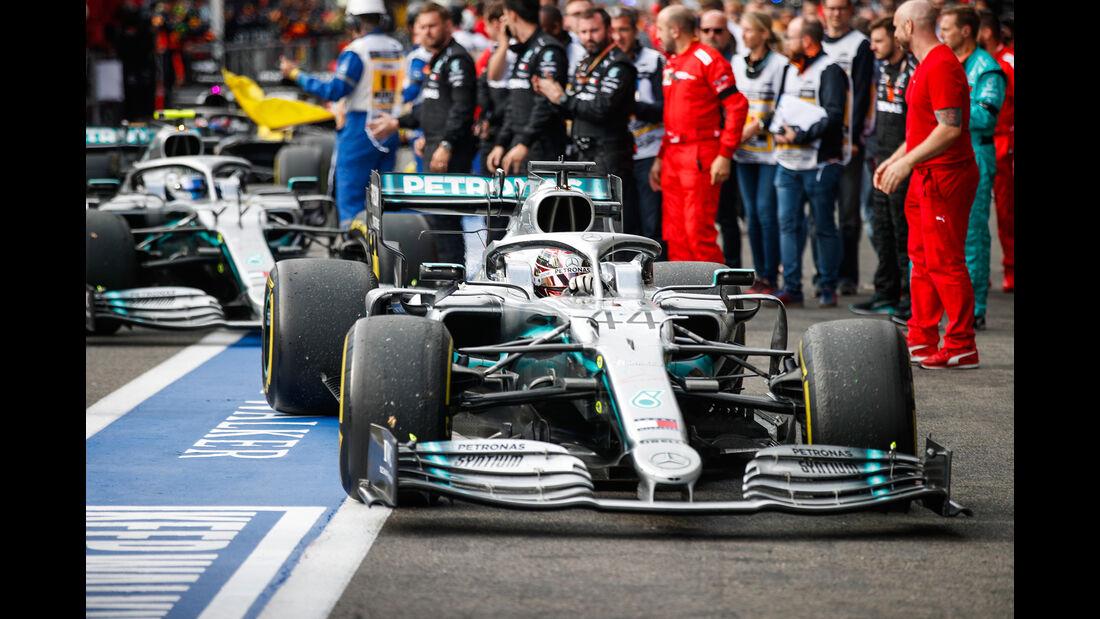 Lewis Hamilton - Mercedes - GP Belgien 2019 - Spa-Francorchamps